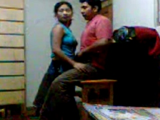 Vid gal 37. Indian college couple fucked in college store room