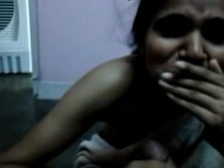 Vid gal 206. Shy indian amateur blowjob