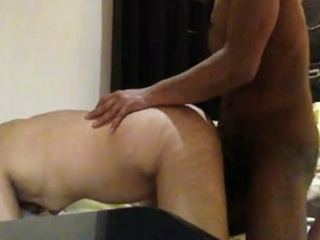 Vid gal 332. Indian couple make love in doggy style
