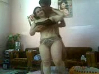 Vid gal 357. Young indian girl getting excited with her naked